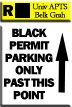 Resident Zone - Permit Color Black