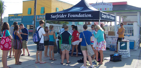 Students Volunteering at the Surfrider Foundation