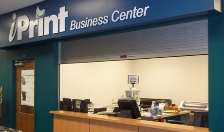 iPrint Business Center - located in Randall Library