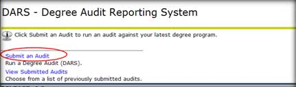Submit an Audit