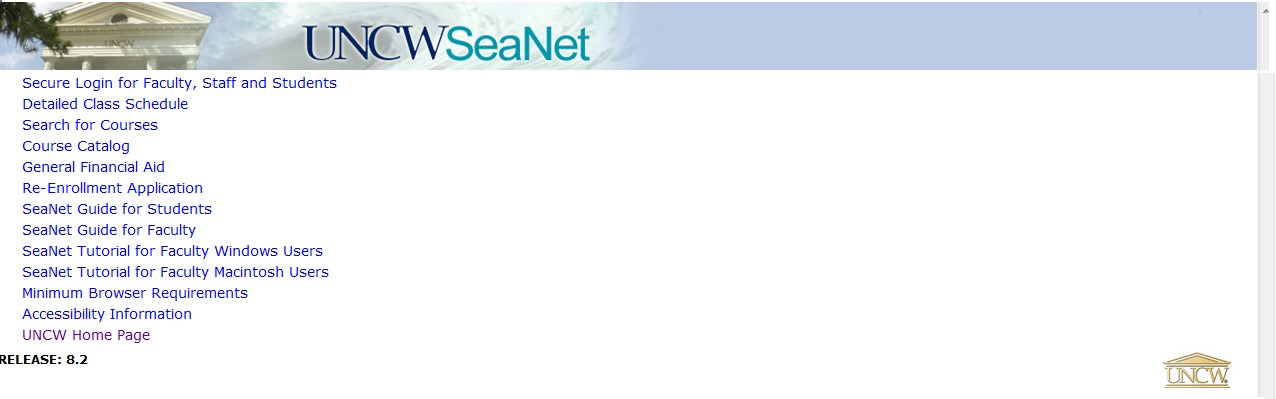 SeaNet Search for Courses
