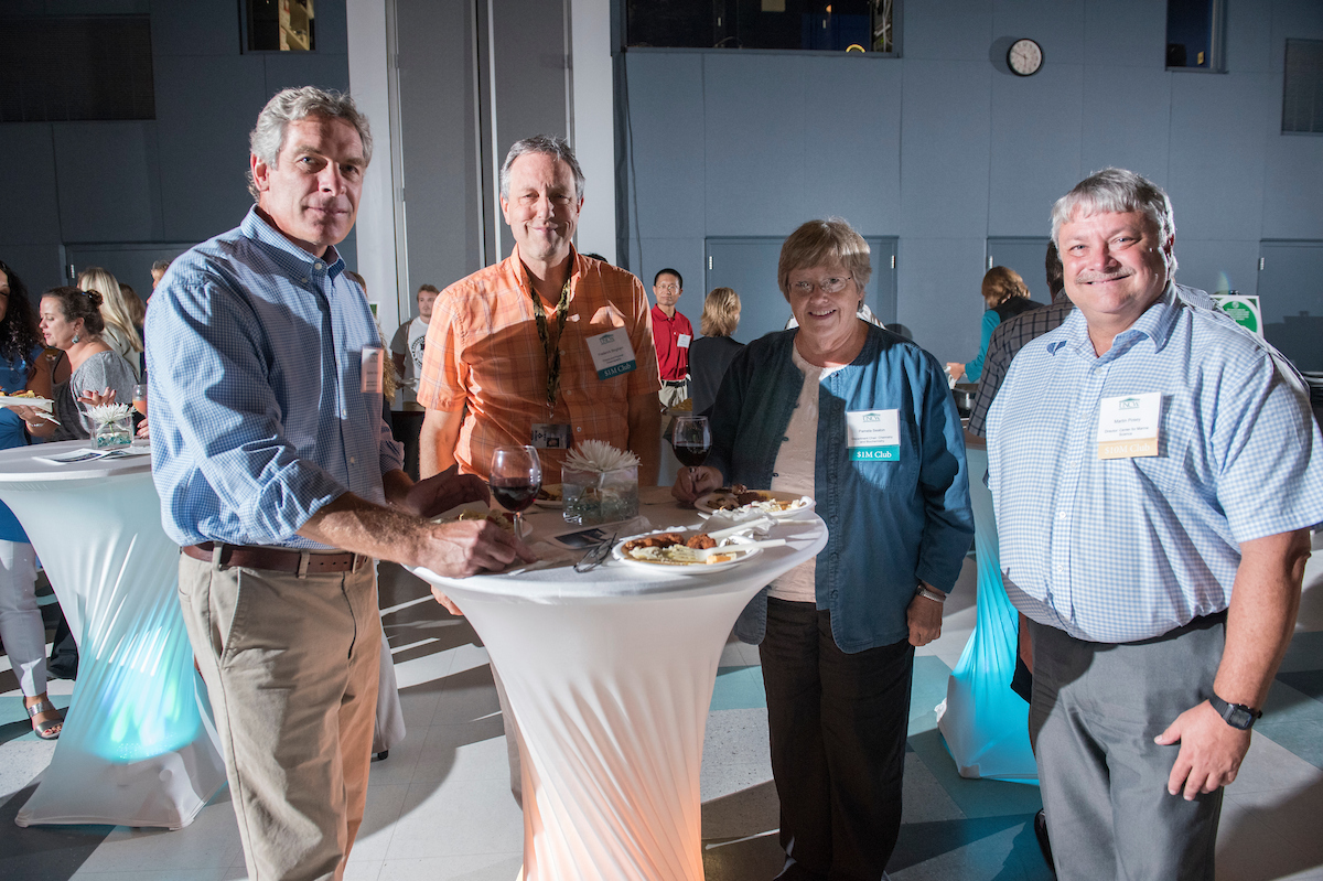 Photo from the SPARC Research Reception 2017 event.