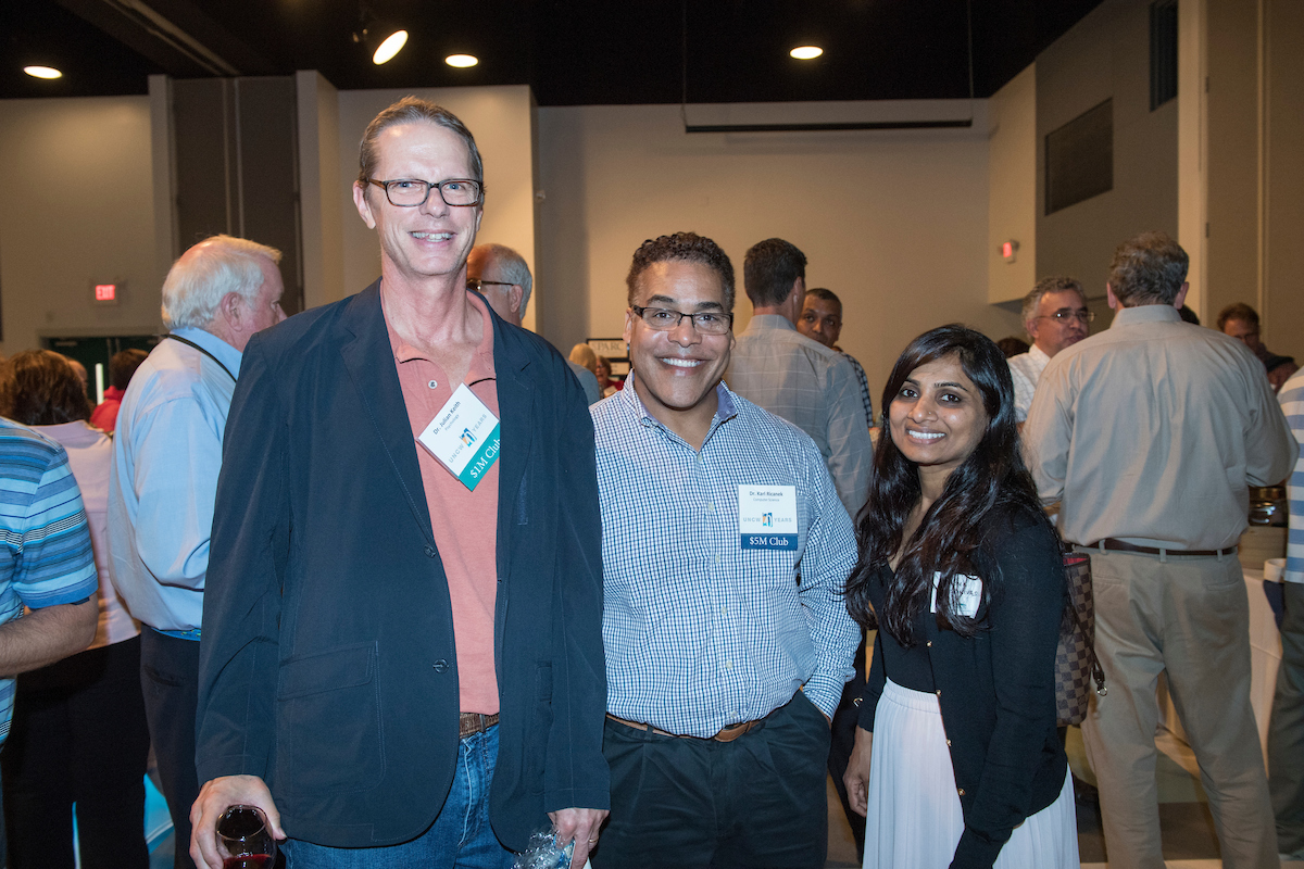 Photo from the SPARC Research Reception 2018 event.