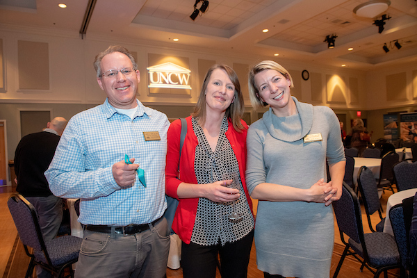 Photo from the Annual Research Award Reception.