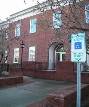 Picture of Handicapped Access and Parking