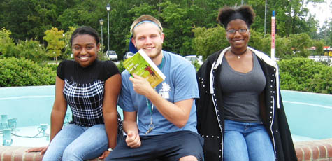Students at UNCW