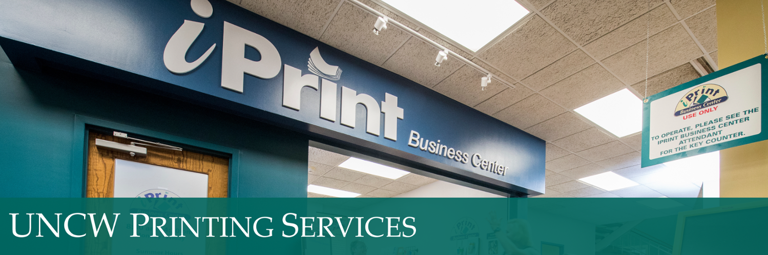 UNCW Printing Services