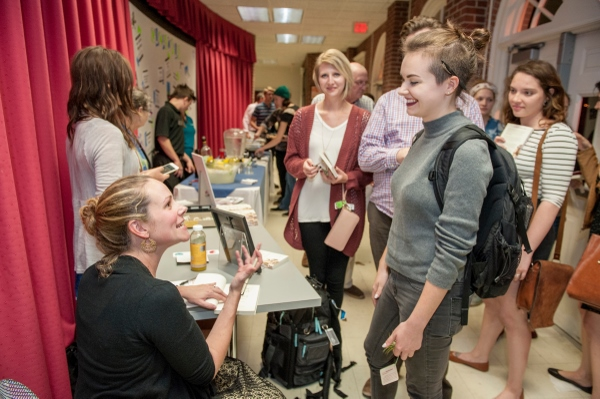 uncw creative writing Danica kelly, a creative writing major in the poetry track, listens to a reader during writers week 2015 -photo by jeff janowski, uncw academic advising (and faqs) the first responsibility for advising rests with the student.