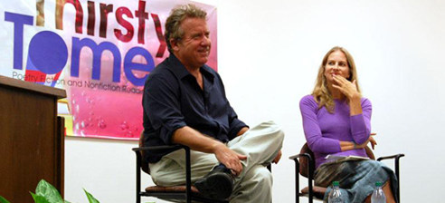 Michael White and Rebecca Lee at Thirsty Tome 2012