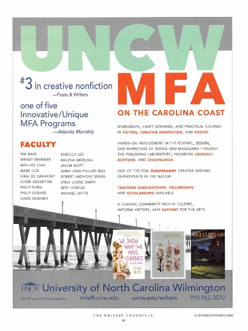 creative writing mfa rankings 2011